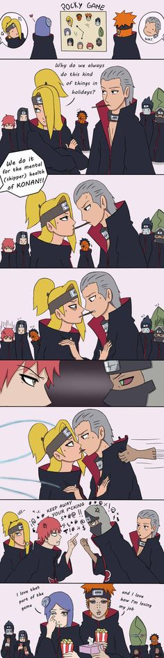 Akatsuki Pocky Game