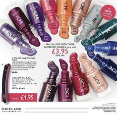 We offer HALF PRICE on The One long wear nail polish in Catalogue 2/17! 😍💅 . This is a supremely long-lasting, high gloss nail polish in rich, festive shades. The One long wear nail polish is formulated with expert gel technology for beautiful chip- and fade-resistant colours. The wide high definition brush enables fast and precise application. . Offer valid until 9 February 2017.