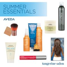 #Summer Essentials - #Aveda Come get yours today at Chuck Kelly Salon & Spa!