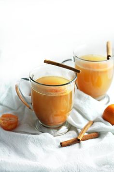 Clementine Mulled Hot Cider with Bourbon and Cinnamon