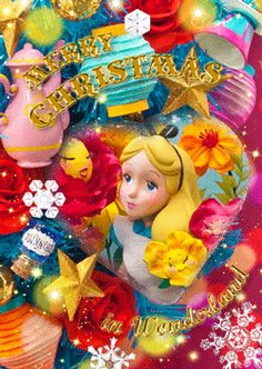 クリスマスオーナメント アリス S3676 アリス・イン・ワンダーランド 不思議の国のアリス - SelectShop W