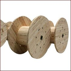 We proffer ample kinds of Wooden Cable Drums with varieties of sizes and shapes. To manufacture the Wooden Cable Drums with durability features.