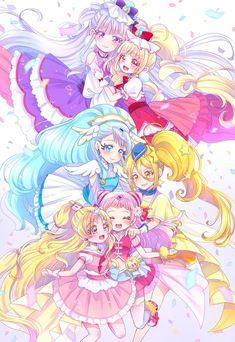 Anime Angel Girl, Anime Art Girl, Pretty Cure, Character Concept, Character Design, Doki Doki Anime, Arte Grunge, Anime Sisters, Create Your Own Adventure