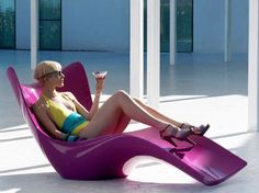 The Vondom Surf Daybed Embodies the Form of Relaxation #design