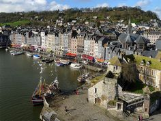 Honfleur, Calvados, Basse Normandy,  France // levaletfrancois via Flick
