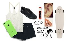 """""""Literally me"""" by legitromo ❤ liked on Polyvore featuring MANGO, Wet Seal, Keds, NLY Accessories and Chapstick"""