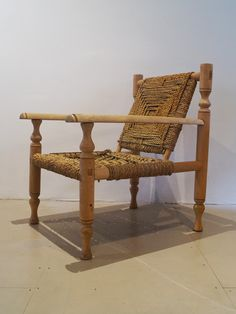 Vinterior is the online marketplace where the world buys and sells remarkable vintage and antique furniture across every lifestyle, budget and taste. Mid Century Chair, Mid Century Furniture, Retro Furniture, Antique Furniture, Outdoor Chairs, Outdoor Furniture, Outdoor Decor, Woven Chair, Sisal Rope