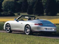 Porsche 911 Carrera Cabriolet (Type 996) - 2002.