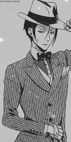 manga, anime, and black butler image