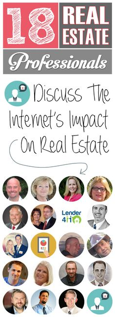 18 #RealEstate Professionals Discuss The Internet's Influence on the Real Estate Industry: http://www.greatcoloradohomes.com/blog/how-has-the-internet-changed-the-real-estate-industry.html