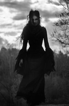 Gothic Vampire Gown