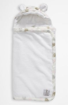 Little Giraffe 'Luxe Dot' Hooded Towel (Infant) available at Nordstrom
