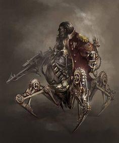 Steampunk Tendencies | Art by Apple Qingyang Zhang #Steampunk