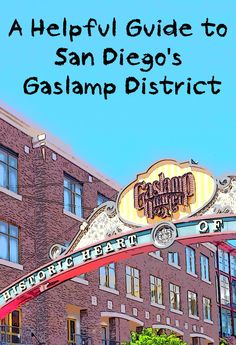 Don't go to the Gaslamp at the wrong time or for the wrong reason. Use this guide to find out how to see it (and when). - Travel San Diego - Ideas of Travel San Diego San Diego Vacation, San Diego Travel, California Vacation, California Dreamin', San Diego Gaslamp, Places To Travel, Places To Visit, San Diego Restaurants, Travel Usa
