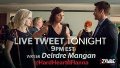West Coast, as you watch #iZombie, dig deeper into tonight's episode with the woman who wrote it: @HardHeartdHanna.