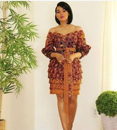Short African Dresses, Ankara Short Gown Styles, African Fashion Designers, Short Gowns, Latest African Fashion Dresses, African Print Fashion, Modern African Fashion, Latest Ankara Gown, African Print Clothing