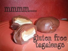 The Girl Scout's Tagalongs are my second favorite cookie. Peanut butter, chocolate, AND a vanilla cookie? What could be better (well Samoas...