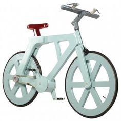 Cardboard Bicycle  by Izhar Gafni