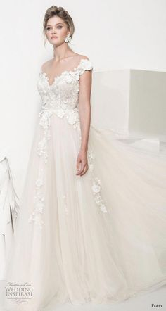 persy couture 2019 bridal cap sleeves sweetheart neckline heavily embellished bodice romantic champagne soft a line wedding dress chapel train mv -- Persy Couture 2019 Wedding Dresses Western Wedding Dresses, Wedding Dresses Photos, Bridal Dresses, Wedding Gowns, Bridesmaid Dresses, Dresses Uk, Evening Dresses, How To Dress For A Wedding, Bride Look