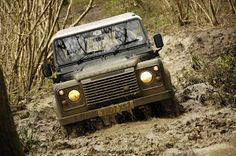 Land Rover Defender, press launch 2007