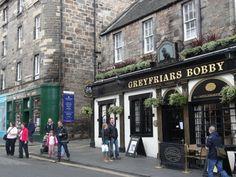 Greyfriar's Bobby Pub, Edinburgh