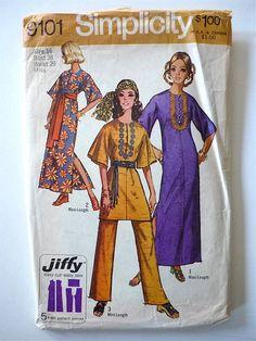 Vintage Sewing Pattern Ladies 70's Simplicity by Freshandswanky, $4.00