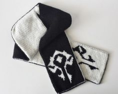 04142205e1b World of Warcraft Inspired Horde Crochet Slouch Beanie