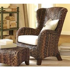 Attrayant Pottery Barn Seagrass Wingback Chair | Shop Chairs Accent Chairs Pottery  Barn Accent Chairs Seagrass Wingback