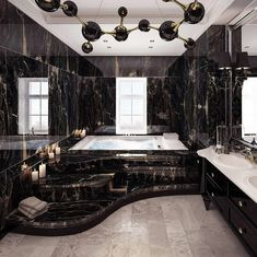 Luxury Bathroom Designs That You Love To Copy - House Interior Ideas bathroomdesigns Dream House Interior, Luxury Homes Dream Houses, Dream Home Design, Modern House Design, Home Interior Design, Luxury Interior, Modern Mansion Interior, Interior Ideas, Contemporary Bathroom Designs