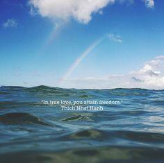 Thich Nhat Hanh quote on true love. Josh Solar @Josh Solar via the VagabondBond Blog . @VagabondBond