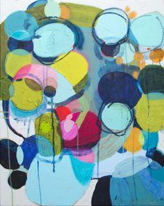 "Saatchi Online Artist: Claire Desjardins; Mixed Media, 2013, Painting ""Under The Influence"""