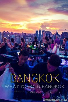Heading to Bangkok? Here is our top things to do in Bangkok - A three day itinerary: http://nerdnomads.com/what-to-do-in-bangkok