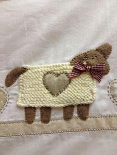 Dechado: 2 NUEVAS COLCHAS EN KIT  Buena combinación tela y lana