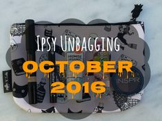 Go check out my #ipsy #octoberglambag unbagging on my #blog !!! I talk about each item I got this month and a short review for each item as well!