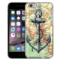 Apple iPhone 6 Nautical Anchor Case from Trek Cases Iphone 5c, Apple Iphone 6, Anchor Phone Cases, Note Reminder, Nautical Anchor, Trek, Products, Gadget