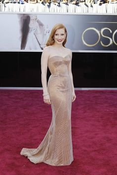 Oscars Best Dressed: Jessica Chastain