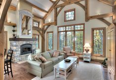 Shrock Premier Custom Construction – Your Premier Custom Builder From design to build we can build your dream home! Build Your Dream Home, My Dream Home, Custom Home Builders, Custom Homes, Cabin In The Woods, Timber House, Cozy Cabin, Log Homes, Home And Living