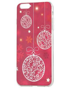 iPhone 6 Covers, 6S iPhone Case Hanging Christmas Balls (4.7 inch) Back Cover. Fits iPhone 6 4.7 inch (2014) & iPhone 6s 4.7 inch (2015). Precise and active-easily access to all ports, sensors, speakers, cameras and all iPhone features. Ultra slim - protective back case with very little weight show off natural beauty of your phone's design. Unique Christmas design - A wonderful fashion garment for your precious iPhone. Satisfied customer service - we promise unconditional return hassle…