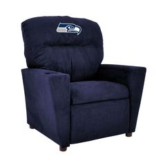 Seattle Seahawks Tween Recliner w/ Cup Holder