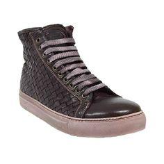 Calzoleria Toscana 9685 Burgundy Woven Sneaker