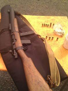De Lisle Carbine. Integrally suppressed