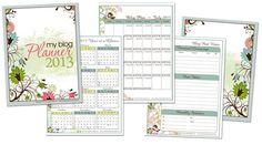 Blogging Calendar for 2013