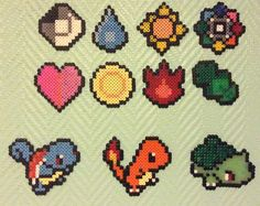 The first starters and the badges
