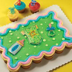 Baby Cupcake, Baby Shower Cupcakes, Cake Baby, Cupcake Cakes, Cupcake Ideas,  Cup Cakes, Cakes For Baby Showers, Ideas Baby Showers, Shower Cakes