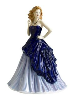 Royal Doulton Pretty Ladies Kathy Blue Figurine