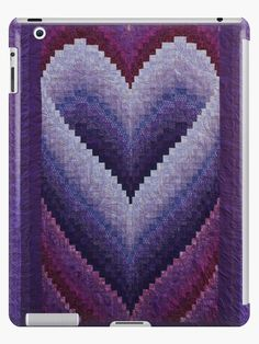 Bildergebnis für Free Bargello Heart Quilt Pattern - My Quilt Ideas Bargello Quilt Patterns, Heart Quilt Pattern, Bargello Needlepoint, Bargello Quilts, Easy Quilt Patterns, 3d Quilts, Palacio Bargello, Purple Quilts, Easy Quilts