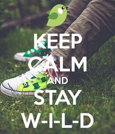 Keep Calm and Stay Wild! #WILD