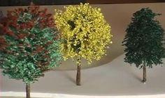 Aprenda como fazer vegetação em miniaturas tema árvore de sisal Felt Flowers, Diy Flowers, Paper Flowers, Sisal, Handmade Crafts, Diy And Crafts, Architecture Life, Miniature Trees, Wire Crafts