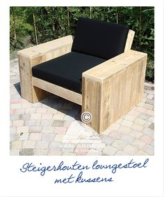 chair DIY, I can see this with beer and popcorn holder in the cinema room. :)