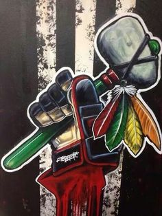 Love the Hawks! #chicago #blackhawks